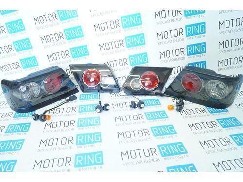 Задние фонари ProSport RS-02622 для ВАЗ 2115 тонированные, черный корпус