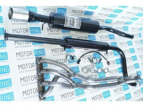 Выпускной комплект с глушителем для ВАЗ 2110-12 16V 1.5, Стингер_1