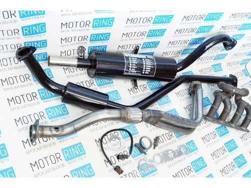 Выпускной комплект с глушителем для ВАЗ 2101-07 16V, Subaru Sound Стингер_1
