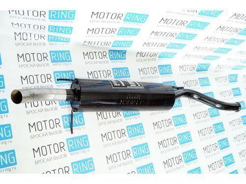 Глушитель прямоточный для ВАЗ 2113, 2114 без насадки для штатной установки_1