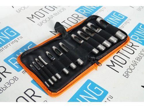 Набор просечек 12штук 3,0-19,0 мм «АвтоDело» 40412_1