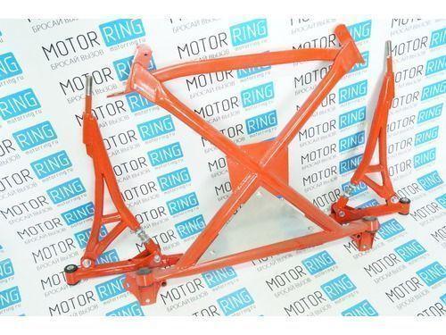 Подрамник с рычагами и треугольной алюминиевой защитой Rz для ВАЗ 2108-15_1