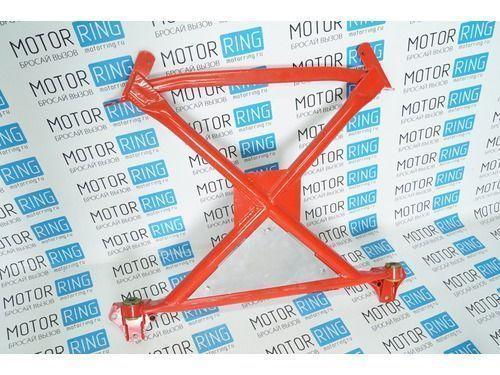 Подрамник Stinger без рычагов с треугольной алюминиевой защитой, полиуретан на ВАЗ 2108-21099, 2113-2115_1