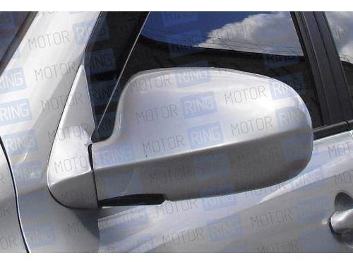 Накладки на зеркала старого образца в цвет кузова для Лада Калина_1