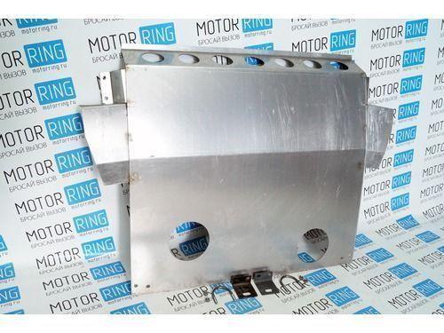 Защита картера двигателя алюминиевая 2,5 мм для Лада Приора_1