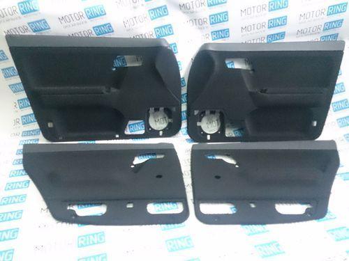 Заводские черные обивки дверей для ВАЗ 2110-12_1