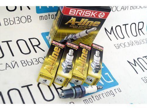 Комплект свечей зажигания Brisk A-line для ВАЗ 2101-07_1