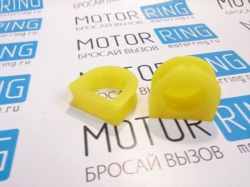 Опоры рулевой рейки старого образца желтые на ВАЗ 2108-21099, 2110-2112, 2113-2115_1
