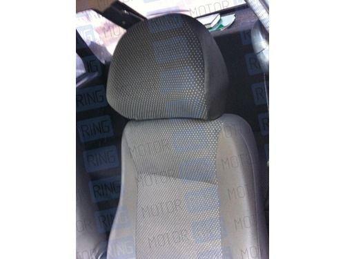Обивка сидений (не чехлы) черная Искринка на Лада Нива 4х4_1