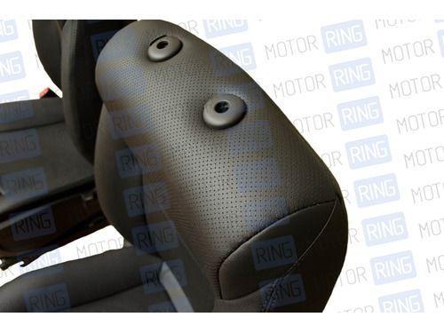 Обивка сидений (не чехлы) экокожа с перфорацией на ВАЗ 2108-21099, 2113-2115_1