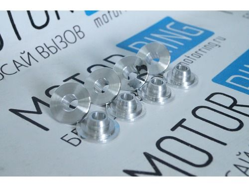 Облегченные тарелки клапанов алюминиевые на 8 кл ВАЗ 2108-2115, Лада Приора, Калина, Гранта_1