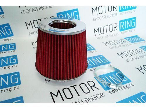 Воздушный фильтр нулевого сопротивления, инжекторный (красный, конус) для ВАЗ_1