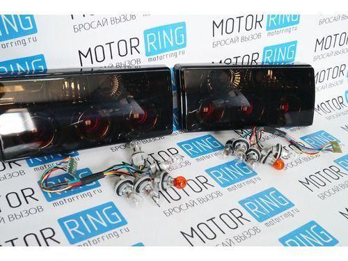 Задние фонари с кольцами тонированные для ВАЗ 2105, 2107_1