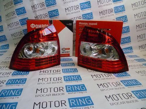 Оригинальные фонари с диодным стопом «АвтоСвет» для Лада Приора 2 (SE)