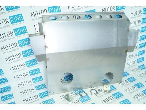 Защита картера двигателя алюминиевая 2,5 мм с ушами для ВАЗ 2110-12