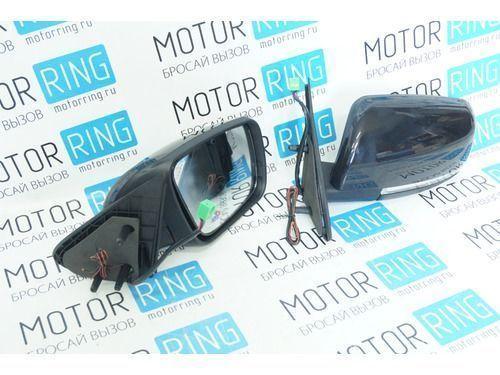 Боковые зеркала с антибликом, повторителями, электроприводом и обогревом для Лада Калина, Калина 2, Гранта, Datsun_1