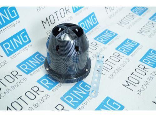 Воздушный фильтр нулевого сопротивления, инжекторный (карбон, круглый) для ВАЗ_1