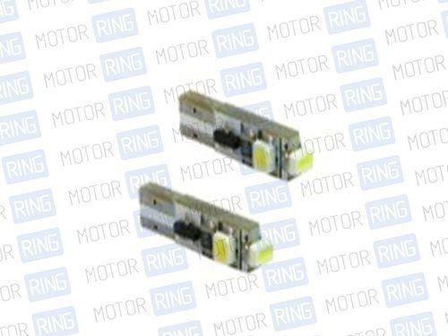 Светодиодные лампы T5 3 LED 1210 SMD IC BI красные_1
