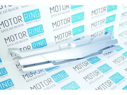 Декоративная решётка радиатора «Mazda» в цвет кузова для Лада Калина