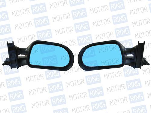 Боковые зеркала W-4 04 черные с антибликовым покрытием для ВАЗ 2104-07