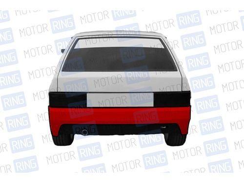Задний бампер «Робот» в цвет кузова для ВАЗ 2108-09