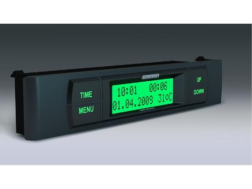 Бортовой компьютер Гамма GF 115T зеленый на ВАЗ 2108-21099, 2113-2115_1