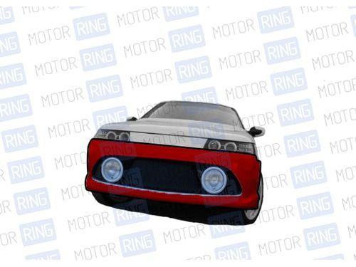 Передний бампер RS в цвет кузова для ВАЗ 2110-12