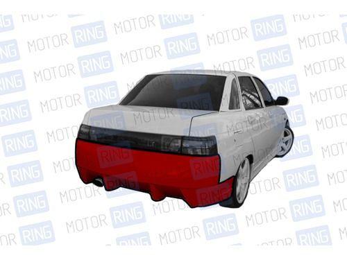 Задний бампер RS в цвет кузова для ВАЗ 2110