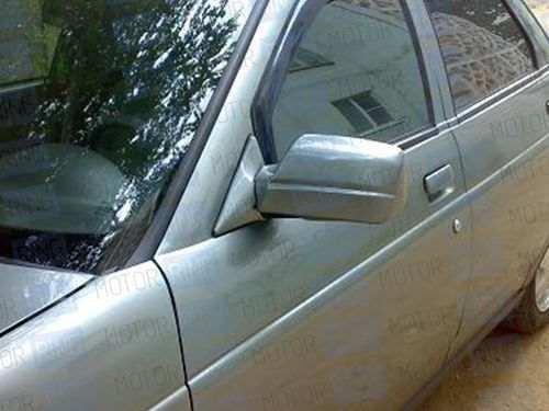 Накладки на зеркала в цвет автомобиля для старых зеркал Лада Приора