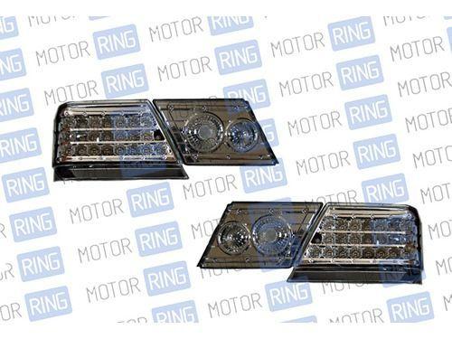 Светодиодные задние фонари ProSport RS-02306 для ВАЗ 2115 тонированные, хром корпус