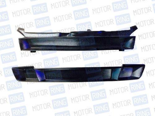 Комплект декоративных решеток бампера и радиатора в цвет кузова Лада Калина