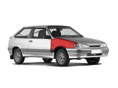 Переднее правое крыло в цвет кузова для ВАЗ 2108-099