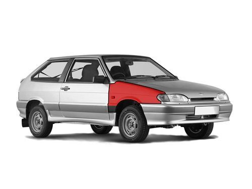 Переднее правое крыло в цвет кузова для ВАЗ 2113-15