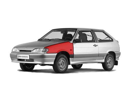 Переднее левое крыло в цвет кузова для ВАЗ 2113-15