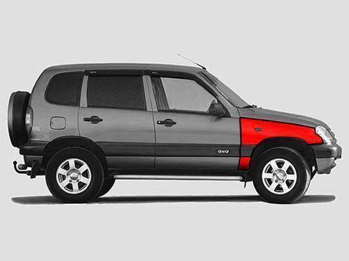 Переднее правое крыло старого образца для Chevrolet Niva до 2009