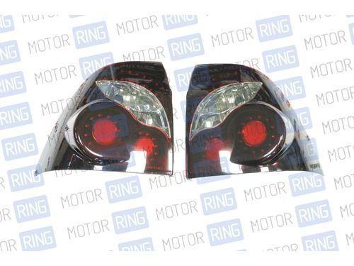 Светодиодные задние фонари ProSport Infiniti RS-05187 для Лада Приора, черный корпус_1