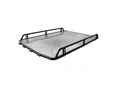 Багажник на крышу 0181 «Трофи» с алюминиевым листом без поперечин на Шевроле Нива_1
