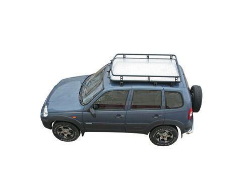 Багажник 0178 «Трофи» с алюминиевым листом для Шевроле Нива_1