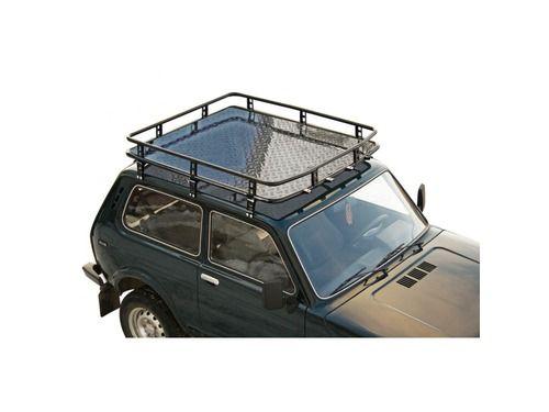 Багажник 0350 «Трофи» с алюминиевым листом для Лада 4х4 2121_1