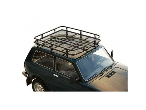Багажник 0351 «Трофи» с сеткой для Лада 4х4 2121_1