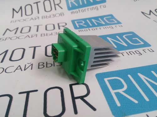 Резистор электронного вентилятора отопителя для Лада Калина 2 с кондиционером_1