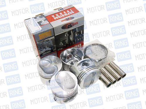 Комплект поршней 82,4мм с пальцами и кольцами ТДМК для двигателя 21100_1