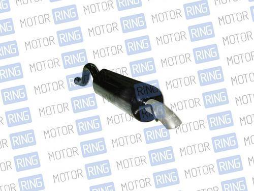 Глушитель прямоточный для Лада Приора седан без насадки для штатной установки без выреза бампера