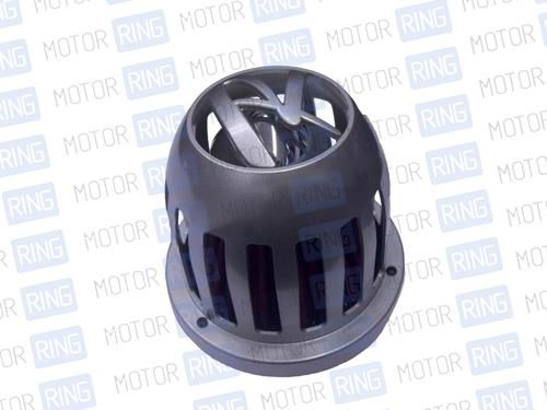 Воздушный фильтр нулевого сопротивления, инжекторный (серый, конус) для ВАЗ