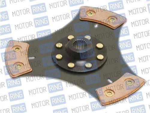 Диск сцепления Clutch Net 3-х лепестковый без демпфера для ВАЗ 2108-099, 2110-12_1