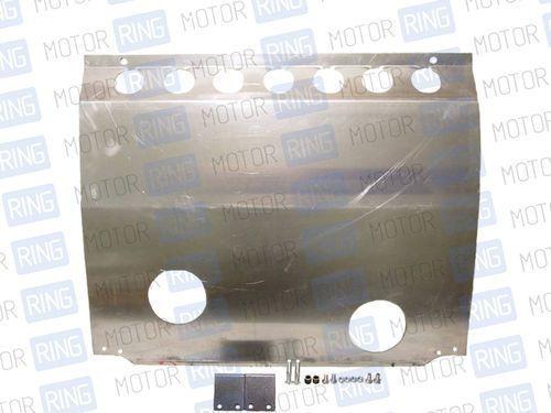 Защита картера двигателя алюминиевая 2,5 мм для Лада Калина_1
