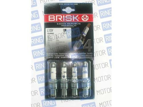 Комплект свечей зажигания Brisk L15Y для карбюраторных ВАЗ 2101-07_1