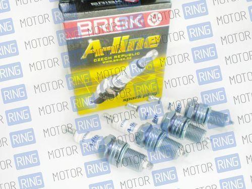 Комплект свечей зажигания Brisk A-line 16V для ВАЗ