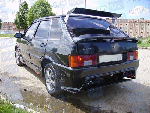 Задний бампер RS на ВАЗ 2113, 2114 в цвет_1