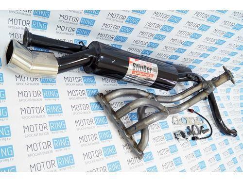 Выпускной комплект с глушителем для ВАЗ 2113-15 16V 1.6, Стингер_1